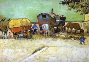 van Gogh Gypsy Wagons